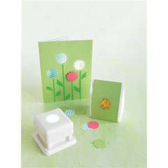 Rose Window Punch All-Over Card and Bag Designed By Martha Stewart Crafts™
