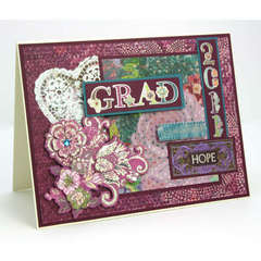 Grad Card - by Melanie Cantrell