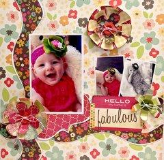 Hello Fabulous Layout