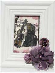 New LaBlanche Stamp Company - Mozart with Violin