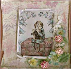 New LaBlanche Stamp Company - Schoolboy on Suitcase