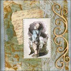 New LaBlanche Stamp Company - Small Boy