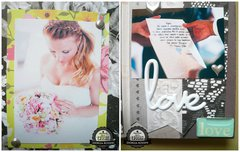 Mini album wedding