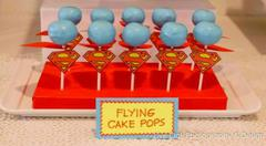Cake Pops Superman