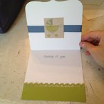 Congratulations for Baby Boy (inside of card)