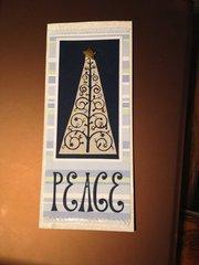 Tall Peace Card (Negative Die)