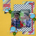 Blowing Bubbles *My Creative Scrapbook*