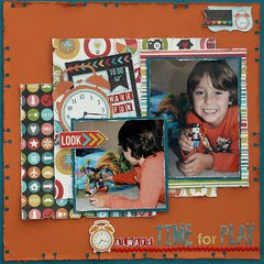 Time For Play **My Creative Scrapbook**