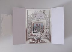 Christmas Card - Bi fold - Inside