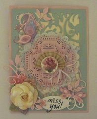 Miss You Card