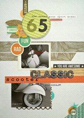 '65 Vespa (Citrus Twist Kits)