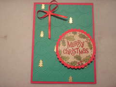 Merry Christmas-embossed