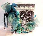 Peacock Mini Book