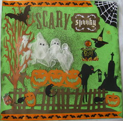Scarey, Spooky Halloween