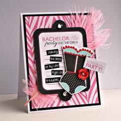 Bachelorette Party card *Bella Blvd*