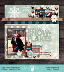 Catching Snowflakes *Fancy Pants Designs*
