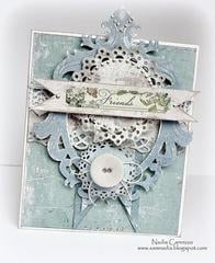 Friends card for *MAJA DESIGN*
