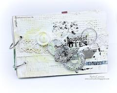 Notebook *Scraps Of Elegance April Kit *