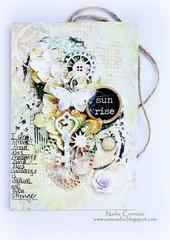 Sunrise tag *Scraps Of Elegance April Kit *