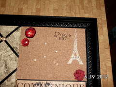 Paris Theme Message Board - view 2