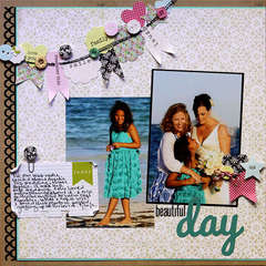 Beautiful Day by Lisa VanderVeen featuring Victoria Park by Lily Bee