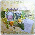 Summer Beauty **Scraps of Elegance** CSI Case 43