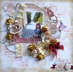 Stunning **September GDT Scraps of Elegance**