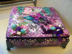 Butterfly Jewel & Music Box