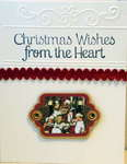 Christmas Wishes From the heart Card