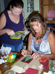 Dawna's 1st Card Making Party