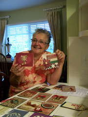 Dawna's 1st Card Making Party!
