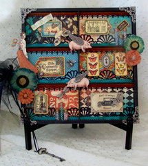 Olde Curosity Shoppe Photo Tray