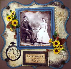 Portraits of the Past John and Nora Fairchild Circa 1800's