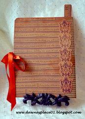 Steampunk Dragonfly Journal