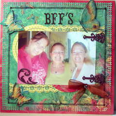 Companion Page to Forever Friends / Bff's LO