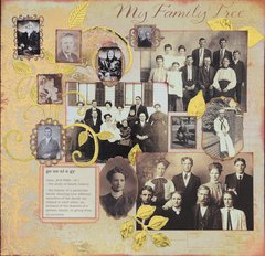 Family Tree Notebook - Front