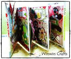 Gingerbread mini album