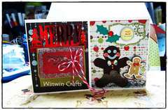 Gingerbread mini album p.3-4