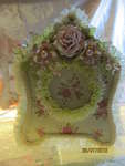 Shabby chic folding photo frame