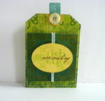 St. Patrick's Day Card/Mini Album **MOXXIE** Part One