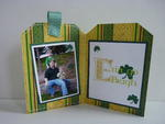 St. Patrick's Day Card/Mini **MOXXIE** Part Two