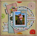Sunshine and Happy Days - ** Scrapbookit **