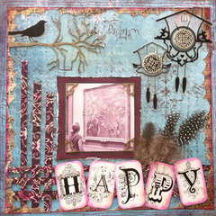 Happy Monet - **Scraps of Darkness**