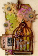 Create Art - Tim Holtz Inspired Tag