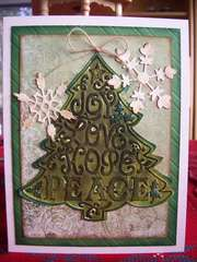 Sizzix Christmas card