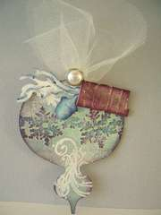Tim Holtz - 12 Tags of Christmas - Tag #1