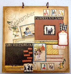 Place In Time September Layout