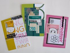 ATCs Animal Stamp Stickers