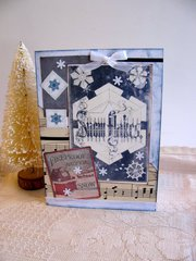 Christmas Card Snow Flakes