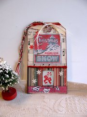 Christmas Tag Snow Ad